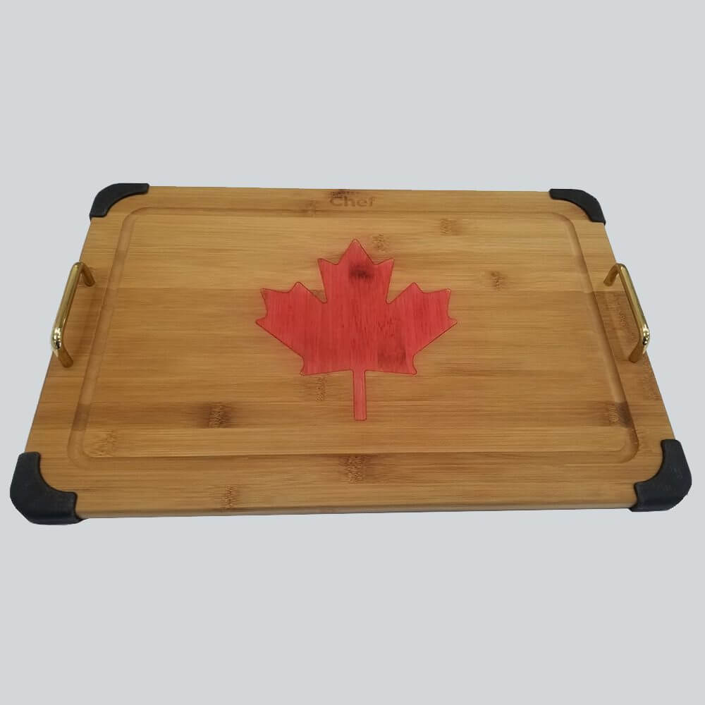 Canadian Maple Leaf Table Tray 2