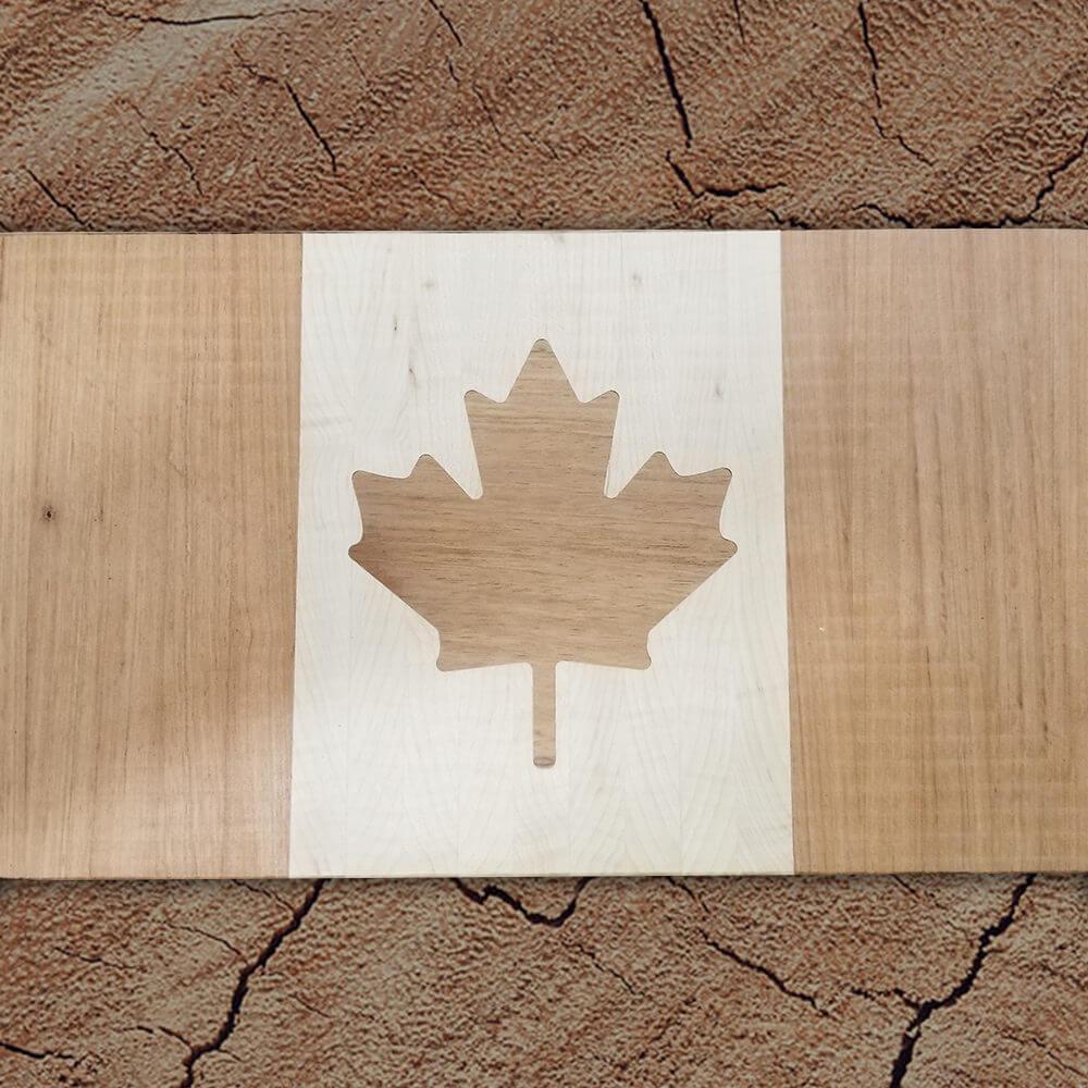 Canadian Flag Inlay