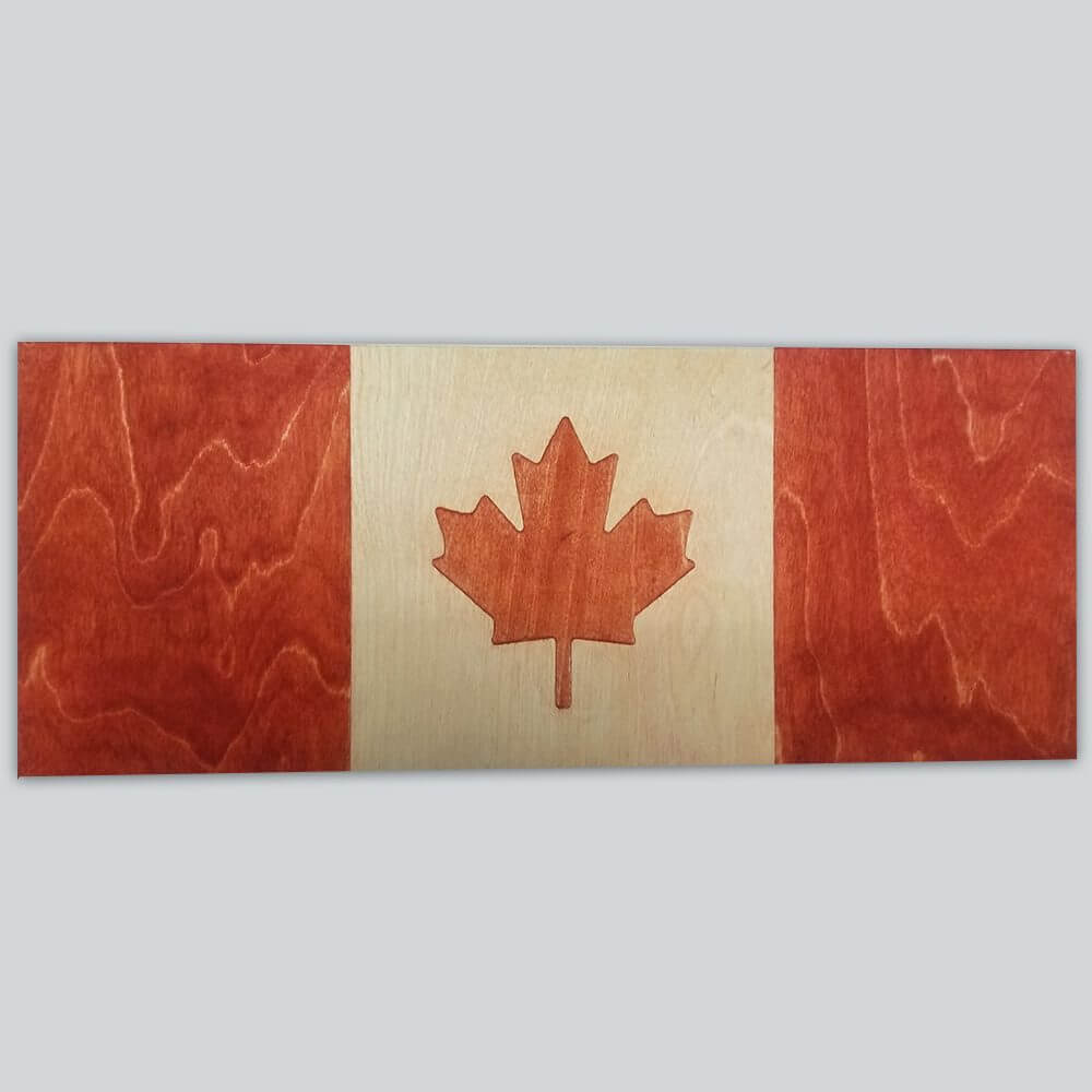 Custom Sign - Canadian Maple Leaf