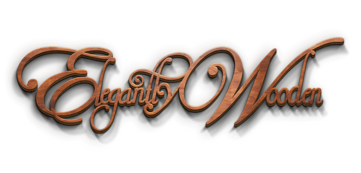 Elegantly Wooden - Full Logo