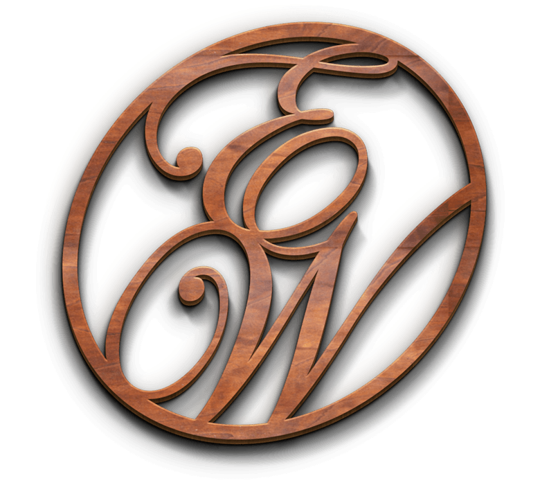 Elegantly Wooden - Logo