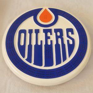 Edmonton Oilers - Crib Board