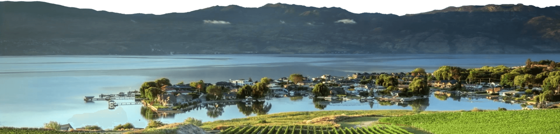 Kelowna - Okanagan Lake Background
