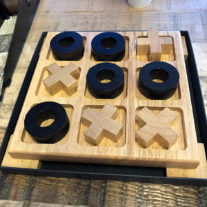 Custom TIc Tac Toe Game Board