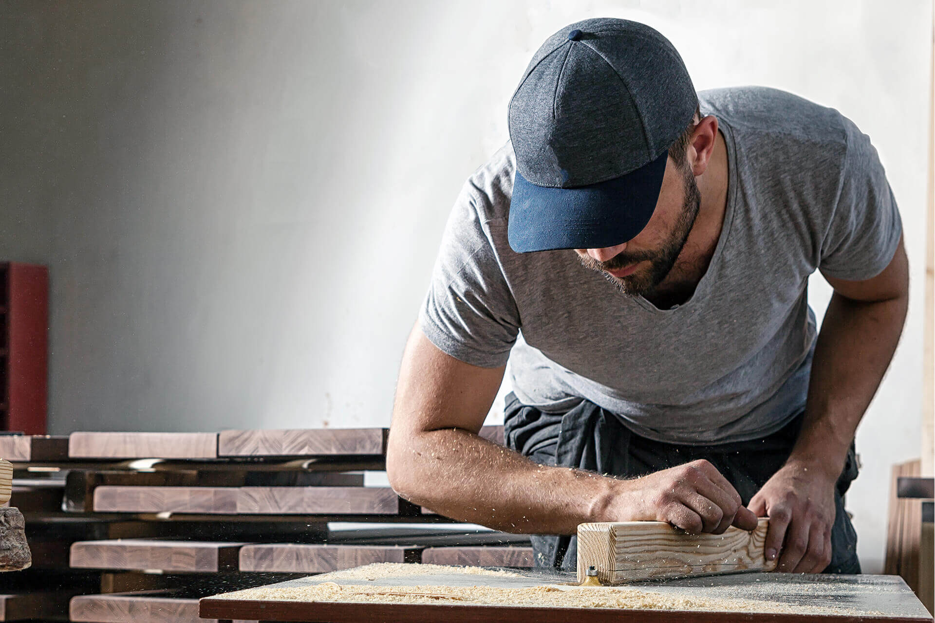 Any custom wood products you can think of, we can bring to life.
